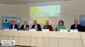 """Der CDU-Kreisparteiausschuss stand unter dem Thema """"Nordstadt – Status quo und Entwicklungsperspektiven"""" getagt."""