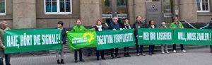 Grünen-Aktion gegen Intown