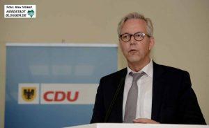 Gregor Lange stand beim CDU-Beirat zum Thema Nordstadt Rede und Antwort. Foto: Alex Völkel