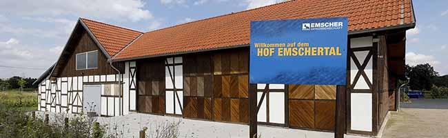 Falken Dortmund werden auf dem Hof Emschertal aktiv – Emschergenossenschaft überträgt Flächen zur Nutzung
