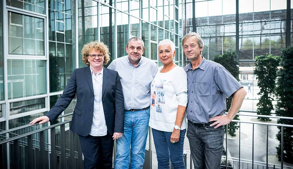 Die Bevollmächtigten in Dortmund und Bochum-Herne wollen zusammenarbeiten. Fotos: Bernd Röttgers