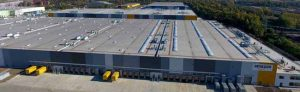 Auf der Westfalenhütte hat Amazon das dritte NRW-Logistikzentrum eröffnet. Foto: Marcus Arndt