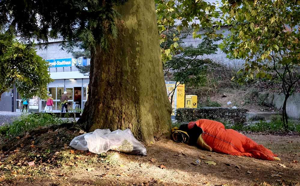 Obdachlose werden im Winter vor besondere Herausforderungen gestellt. Foto: Sebastian Sellhorst