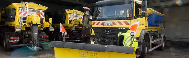 Die ersten kalten Nächte sind überstanden: EDG sieht sich für den Winterdienst in Dortmund gut gerüstet