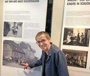 Mit-Kuratorin Brunhild Kanstein trug mit die Ausstellung über das Hoesch-Kindererholungsheim Schledehausen zusammen.
