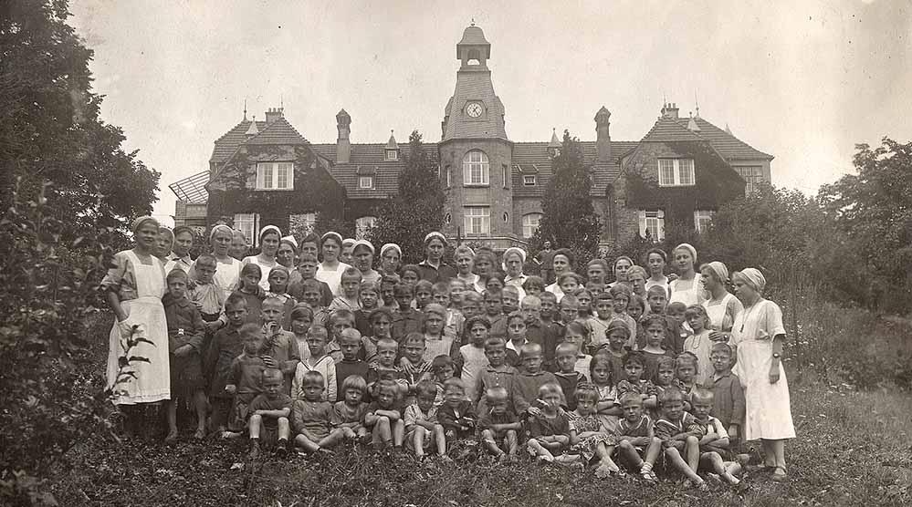 Das Hoesch-Kindererholungsheim Schledehausen war Ferienort hunderter Dortmunder Kinder.