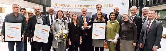 Wirtschaftlicher Erfolg durch kulturelle Vielfalt: Interkultureller Wirtschaftspreis 2017 verliehen
