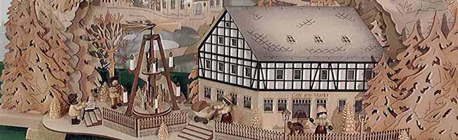 Kleine und große Weihnachtspyramiden im  Museum für Kunst und Kulturgeschichte geben Vorgeschmack auf das Fest