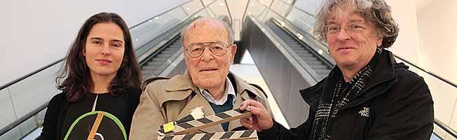 Filmemacher Marcel Ophüls zu Gast in Dortmund: Der 90-jährige Oscar-Preisträger besuchte die Fachhochschule