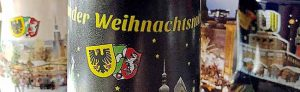 Außen anthrazit und innen BVB-gelb: die Tasse für den beliebten Glühwein.