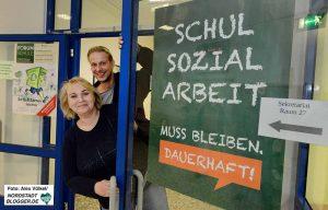 Die Schulsozialarbeit ist auch weiterhin gesichert - für 95 Stellen lief die Finanzierung nur bis nächsten Sommer. Archivfotos: Alex Völkel