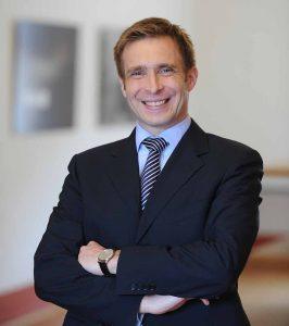 Prof. Dr. Tobias Just ist auch Professor für Immobilienwirtschaft an der Universität Regensburg. Foto: Thomas Plettenberg/ IREBS