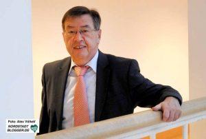 Der finanzpolitische Sprecher der SPD-Fraktion, Ratsmitglied Heinz-Dieter Düdder.