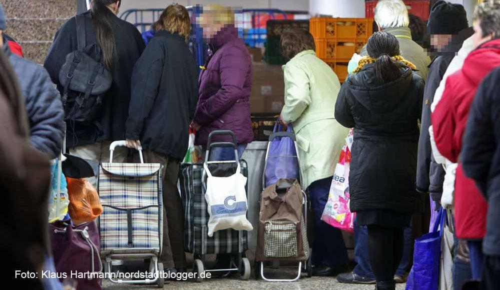 14.000 Menschen werden in Dortmund mit Lebensmitteln von der Dortmunder Tafel versorgt. Archivfoto: Klaus Hartmann