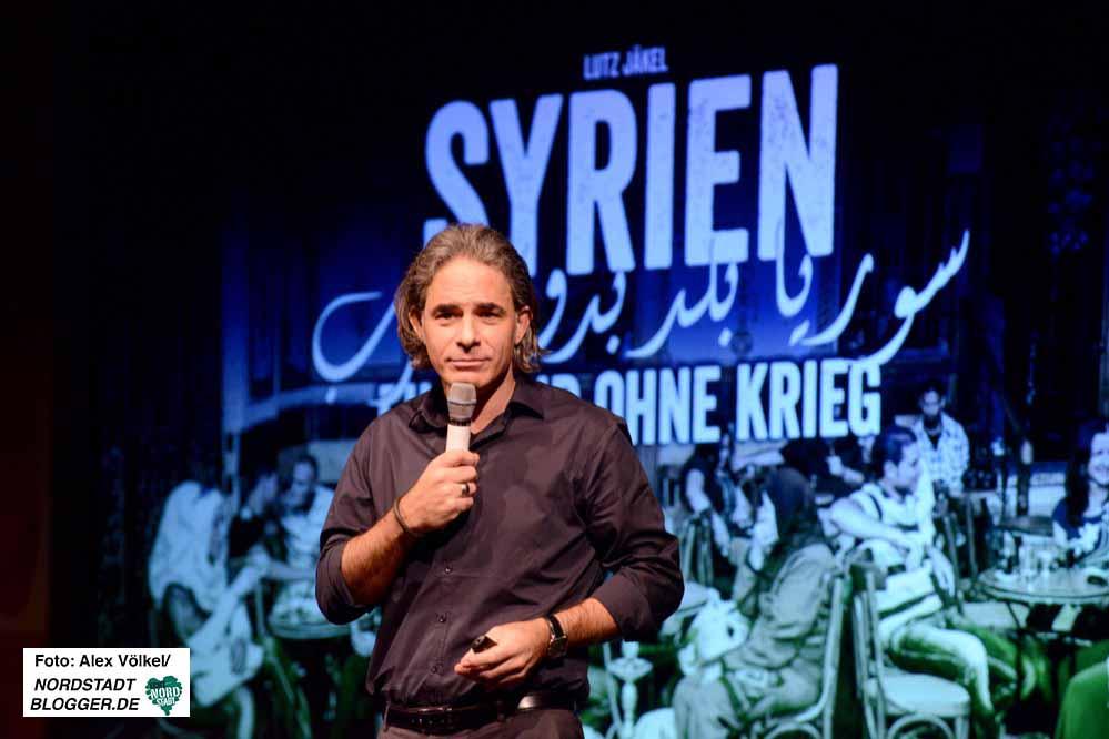 """Lutz Jäckel stellte beim """"Talk im DKH"""" seine Multimedia-Show vor."""