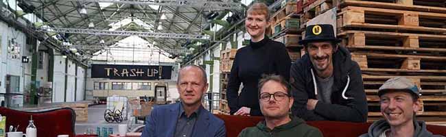 """""""Trash Up!"""" in Dortmund: Das Upcycling-Festival im Depot zeigt innovative Zugangsweisen zur """"Nachhaltigkeit"""""""