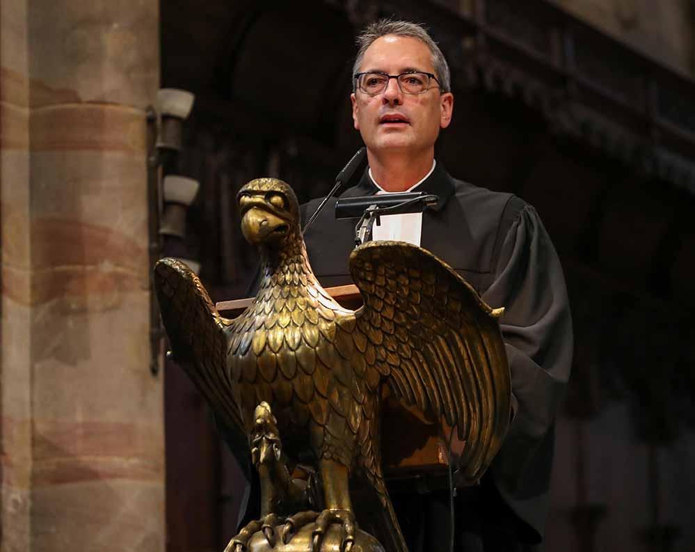 Superintendent Ulf Schlüter kehrt Dortmund und der Reinoldikirche im Sommer den Rücken. Foto: Stephan Schuetze