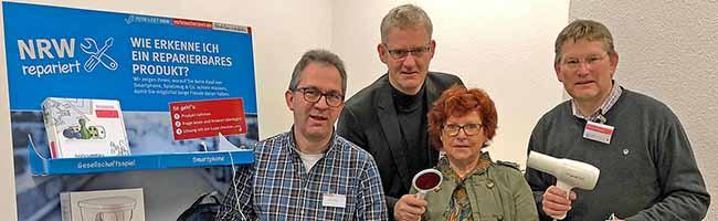 Reparieren statt wegwerfen: Verbraucherberatung gibt Tipps zur richtigen Anschaffung – Fünf Repair-Cafés in Dortmund