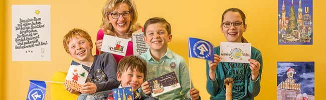 Weihnachtskarten helfen Kindern: Der Kinderschutzbund aus der Nordstadt verkauft wieder Weihnachtskarten-Kollektion