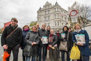 Die zweite Quartiers-Tour führte durch das Nordmarkt-Quartier. Foto: Roland Gorecki/ Stadt Dortmund