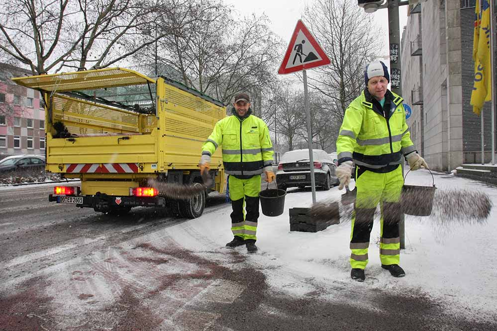 Über 200 Beschäftigte der EDG sind auch für den Winterdienst zuständig. Archivfoto: Oliver Schaper