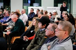 Die Zukunft des Hoeschpark stand im Mittelpunkt der Beteiligungsveranstaltung.