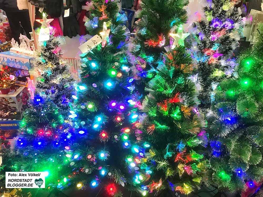 Es ist nicht alles Gold, was an Weihnachten glänzt und blinkt. Fotos: Alex Völkel