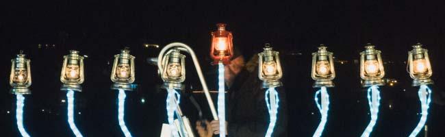 Chanukka in Dortmund: Jüdische Gemeinde feiert trotz Antisemitismus ihr Lichterfest am Phoenixsee
