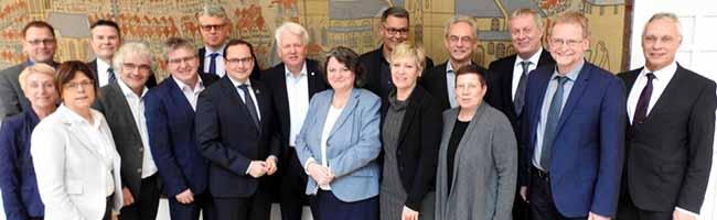 Erstmaliges Treffen: Die Verwaltungsvorstände aus Dortmund und Essen tagen gemeinsam im Dortmunder Rathaus
