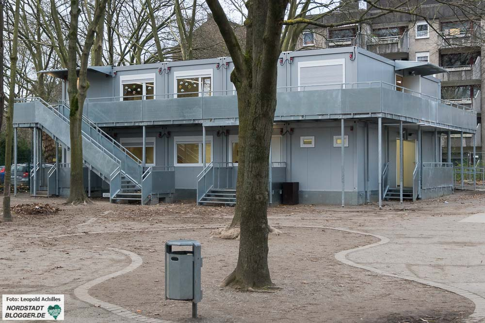 Neue mobile Raumeinheiten erhält unter anderem die Nordmarkt-Grundschule