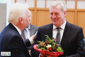 Jörg Stüdemann wurde mit einem ausgezeichneten Ergebnis wiedergewählt.