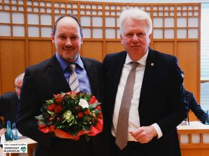 Der SPD-Fraktionsgeschäftsführer Christian Uhr wird neuer Dezernent für Personal und Organisation.