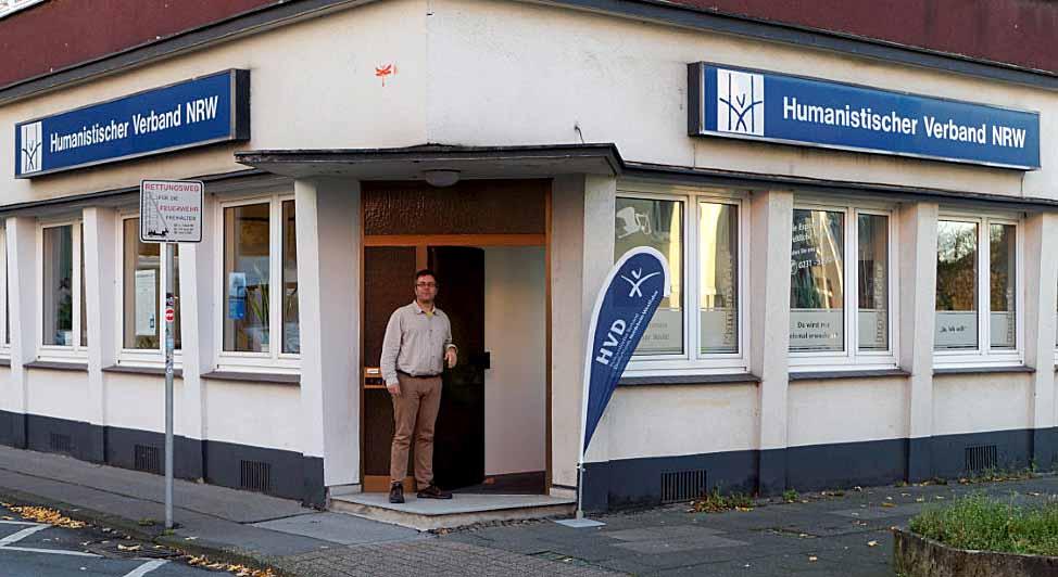 Thomas Oppermann ist Landesgeschäftsführer des humanistischen Verbands. Foto Roland Klecker/ dofoto.de