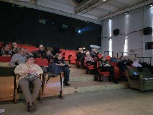 Überschaubarer Andrang beim ver.di-Forum zur Rentenpolitik.