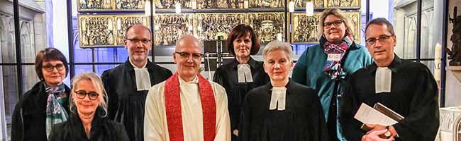 Die evangelische Stadtkirche St. Petri in Dortmund hat mit Christel Schürmann endlich eine neue Pfarrerin