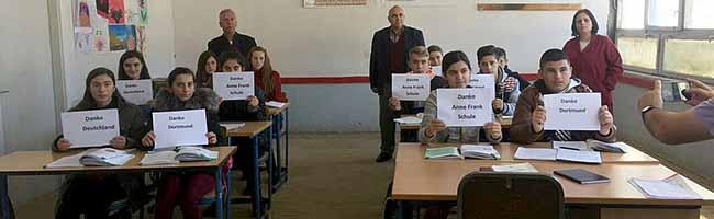Anne-Frank-Gesamtschule: Bildungsnetzwerk schul.inn.do unterstützt das Engagement für Schulen im Kosovo
