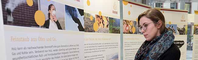 """Tipps zum Heizen mit Holz: Ausstellung """"Clean Heat"""" (Saubere Wärme) zum nachhaltigen Heizen in Dortmund"""