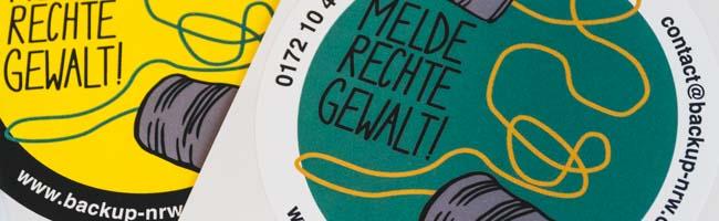 """""""Melde rechte Gewalt"""" in Dortmund: Opferberatung """"Back-Up"""" präsentiert neue Kampagne und will sensibilisieren"""