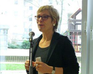 Dezernentin Daniela Schneckenburger richtete ein Grußwort an die Gäste.