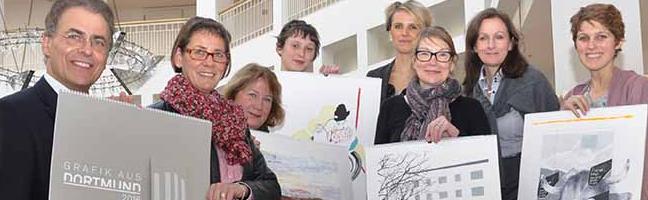 """""""Grafik aus Dortmund"""": Künstlerinnen und Künstler aus Dortmund können sich für den Kalender 2019 bewerben"""