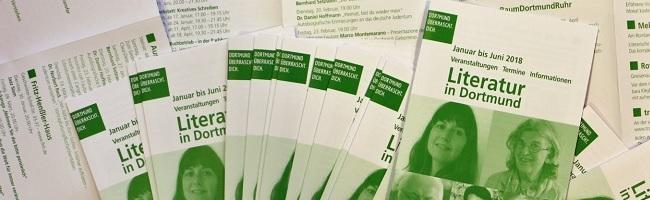 Literatur in Dortmund: Veranstaltungskalender mit dem Lesungsprogramm fürs erste Halbjahr 2018 erschienen