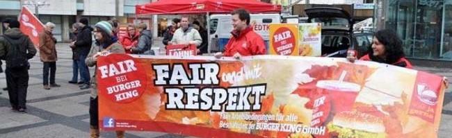 Streikteilnahme: Franchise-Nehmer von Burger King will den Betriebsratschef in Kley feuern – es ist der dritte Anlauf