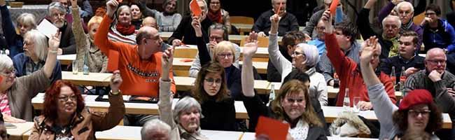 #NoGroKo: Die SPD-Basis in Dortmund diskutiert kontrovers und votiert mit großer Mehrheit gegen Koalitionsgespräche