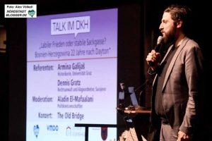 """""""Talk im DKH"""" ist eine wichtige, kulturelle Plattform für die Nordstadt. Foto: Alex Völkel"""