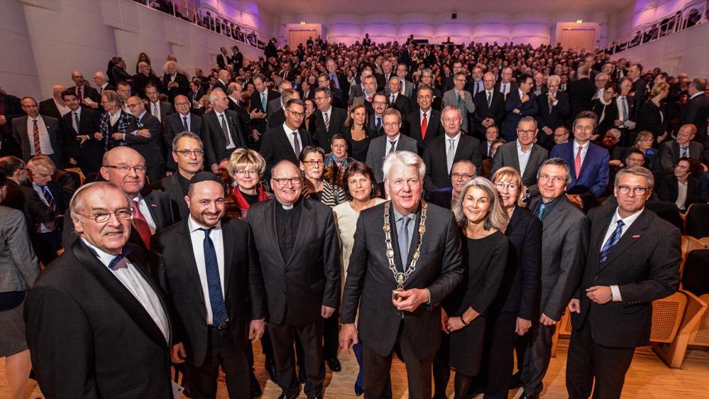 Große Resonanz gab es erneut auf den Neujahrsempfang. Fotos: Roland Gorecki/ Stadt Dortmund