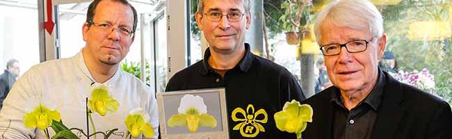 Neue Orchideen-Sorte ehrt BVB-Chef Reinhard Rauball