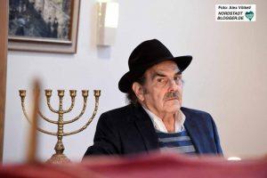 Sallo van Gelder ist das letzte Mitglied der jüdischen Gemeinde in Aalten.