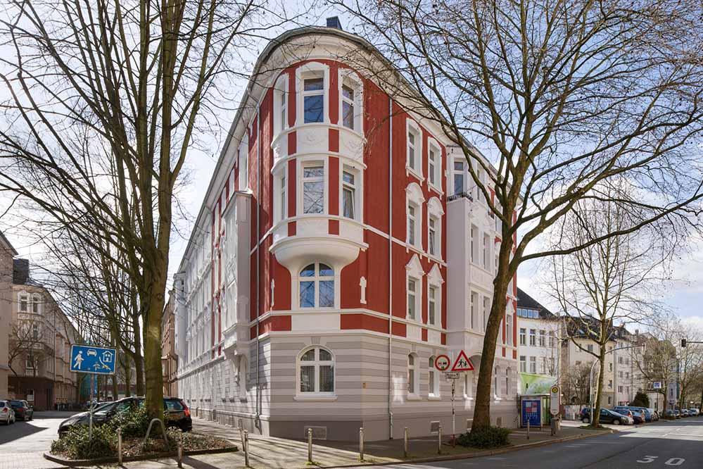 Bezahlbares Wohnen, dazu mit Anspruch. Spar- und Bau, Albrecht-/Ecke Lange Straße in der westlichen Innenstadt