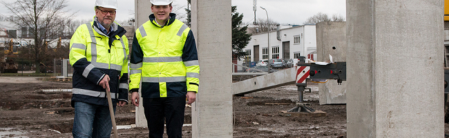 Familienunternehmen Atlas baut eine 4000 Quadratmeter große Erweiterung im Hauptquartier in Dortmund-Wickede