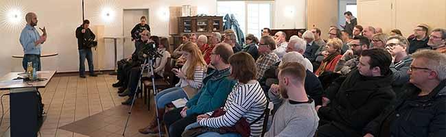 Offene Wahlkreiskonferenz der SPD – Kontroverse Diskussion um Große Koalition mit deutlicher Tendenz: #NoGroKo!